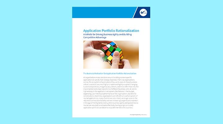 Application Portfolio Rationalization – Driving Business Agility