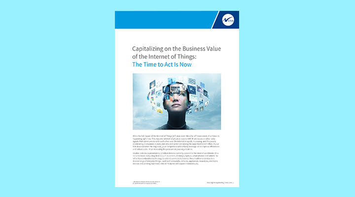 Capitalizing on the business value of IoT