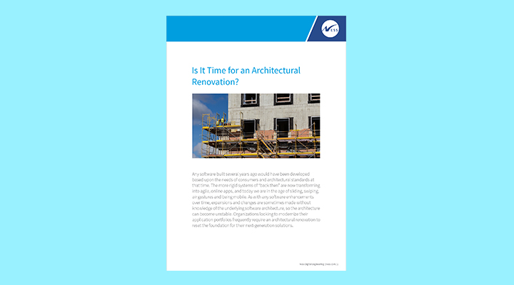 Is it time for an Architectural Renovation?
