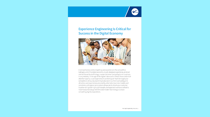 Experience Engineering is Critical for Success in Digital Economy