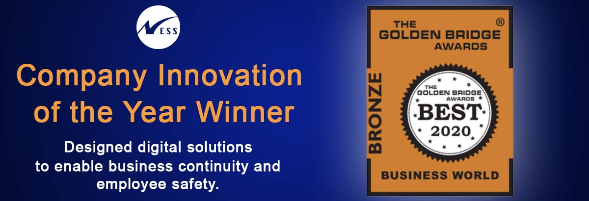 2020 Golden Bridge Award Winner in Company Innovation